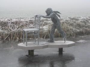 beeldje schaatser